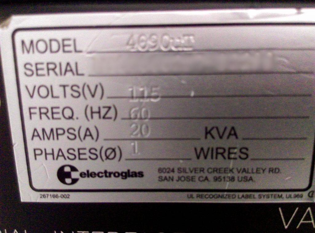 View Electroglas-4090 u Thin-Prober-33306