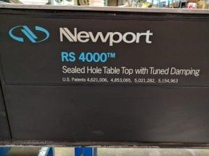 Buy Newport-RS 4000 / I2000-Optical Table Breadboard-9920 Online