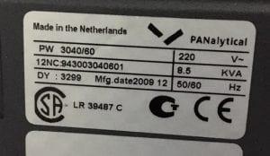 Philips / Panalytical-XPert Pro--20798 Image 7
