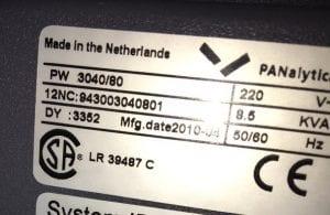 Philips / Panalytical-XPert Pro--20797 Image 5
