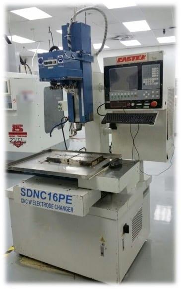 Castek-SDNC 16 PE-EDM Hole Popper-33045 For Sale