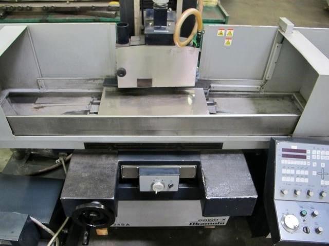 Okamoto-ACC 12.24 SA-3-Axis Automatic Surface Grinder-33005 For Sale
