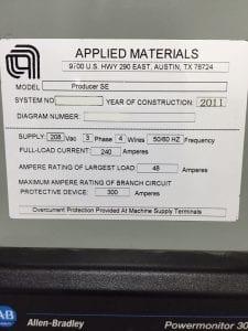 Applied Materials-Producer SE-Chemical Vapor Deposition (CVD)-33010 For Sale