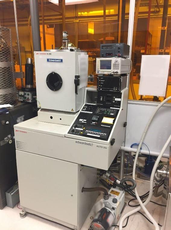 Edwards-Auto 306-Electron Beam Evaporator-33641 Image 4