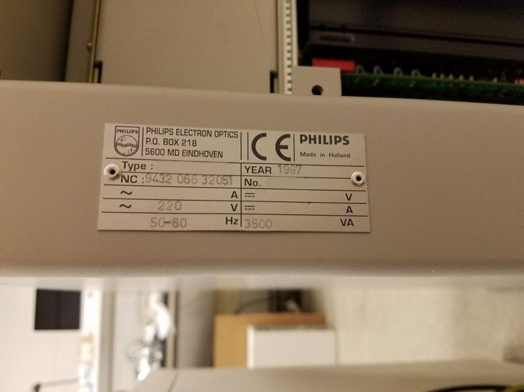 FEI / Philips-XL 30 FEG-Feg ESEM-33715 Image 22