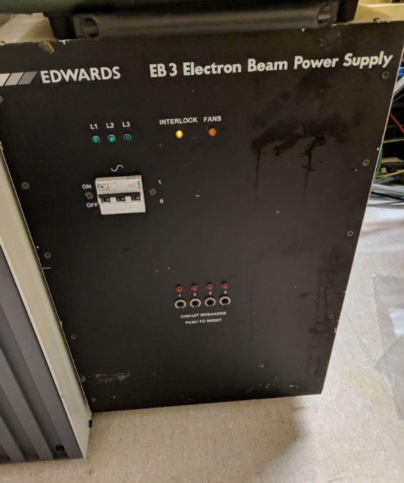 Edwards-Auto 306-Electron Beam Evaporator-33641 Image 1