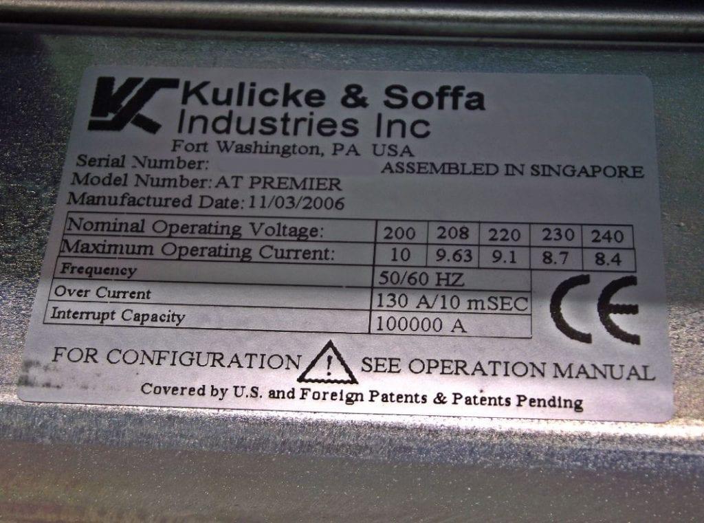 K&S-AT Premier-Stud Bumper-33702 Image 2