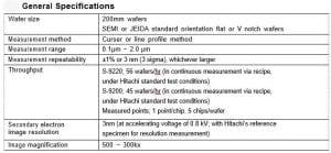 Hitachi-S-9220-Critical Dimension - Scanning Electron Microscopy (CD-SEM)-33815 Image 14