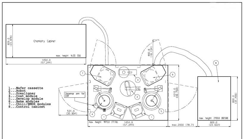 EVG-150-Automated Coater / Developer Processing System-33745 Image 5