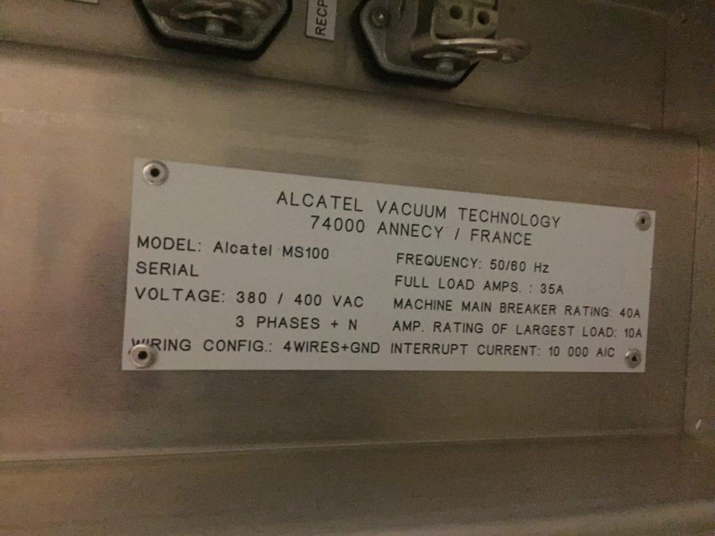 Purchase Alcatel-Speeder 100 Si-ICP DRIE-33415