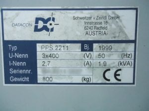 Datacon-PPS 2211-Underfilling Machine-33772 For Sale