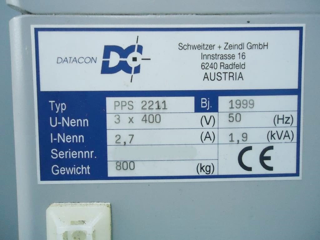 Datacon-PPS 2211-Underfilling Machine-33772 Refurbished