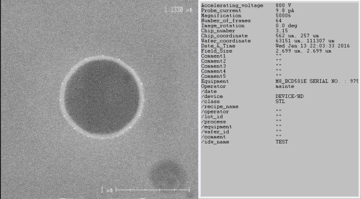 Hitachi-S-9220-Critical Dimension - Scanning Electron Microscopy (CD-SEM)-33815 Image 1