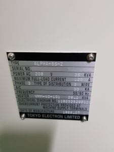 Tel-Alpha 8 S Z-SiN Furnace-33820 Image 3