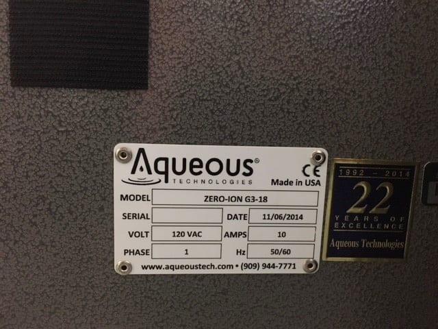 Buy Aqueous-Zero-Ion G 3-18--33955 Online