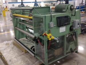 View Voorwood-S 60 18 18 Z-Slitting Machine-33995