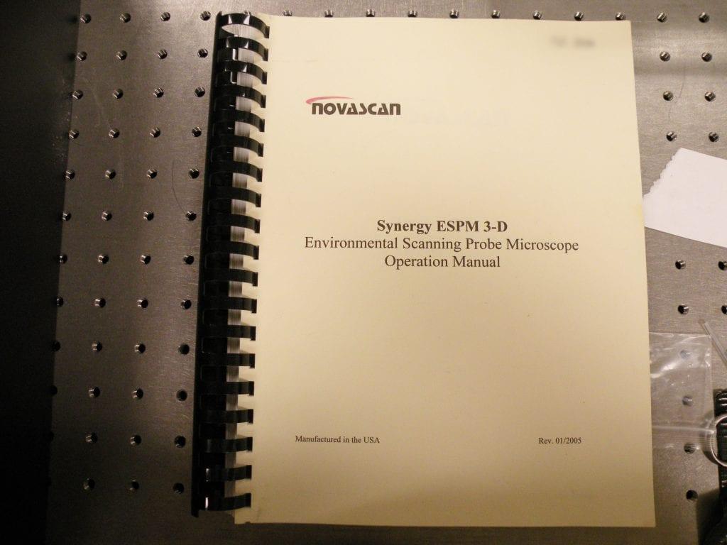 Novascan-Synergy ESPM 3-D-AFM-33864 For Sale Online