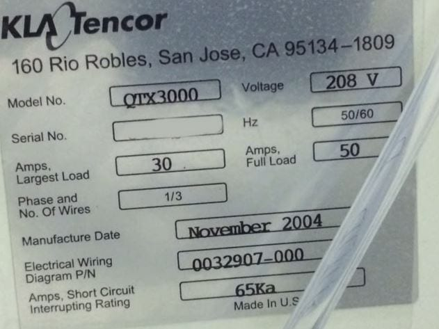 Buy Online KLA-Tencor-Quantox XP--34206