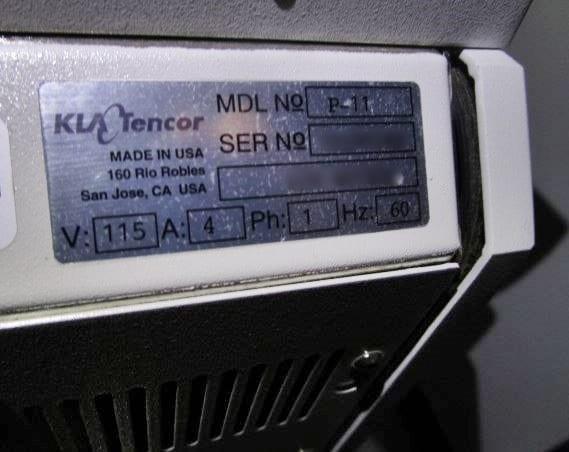 KLA-Tencor-P-11-Profiler-32600 Image 49