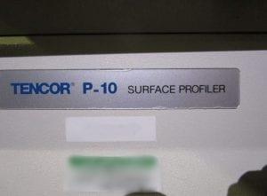 KLA-Tencor-P-10-Surface Profiler-32599 Refurbished
