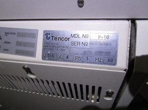 Check out KLA-Tencor-P-10-Surface Profiler-32599