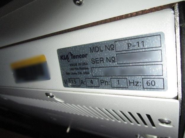 KLA-Tencor-P-11-Profiler-32600 Image 37