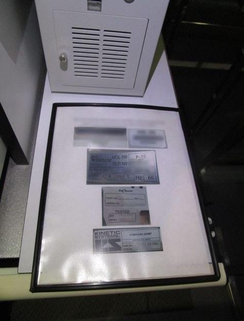 KLA-Tencor-P-10-Surface Profiler-32599 Image 12