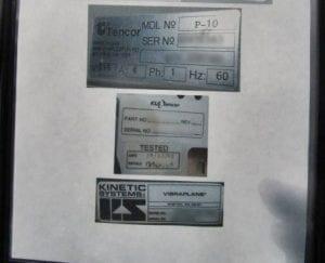 KLA-Tencor-P-10-Surface Profiler-32599 For Sale