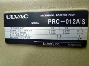 Buy Ulvac-VS 2401-Pumps-32673 Online