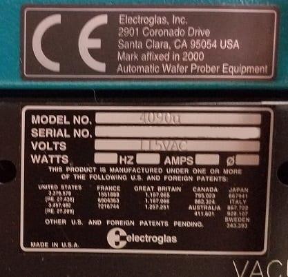 Electroglas-EG 4090 u-Wafer Prober-32568 For Sale