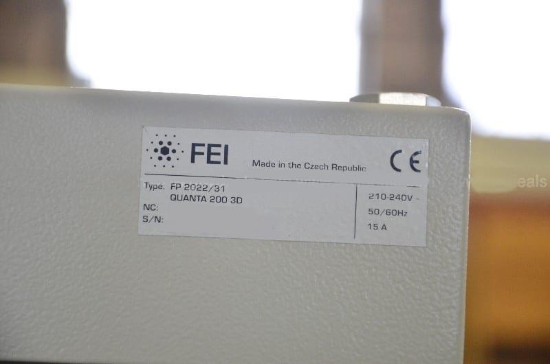 FEI-Quanta 200-3D Focused Ion Beam (FIB) / Scanning Electron Microscope Image 3