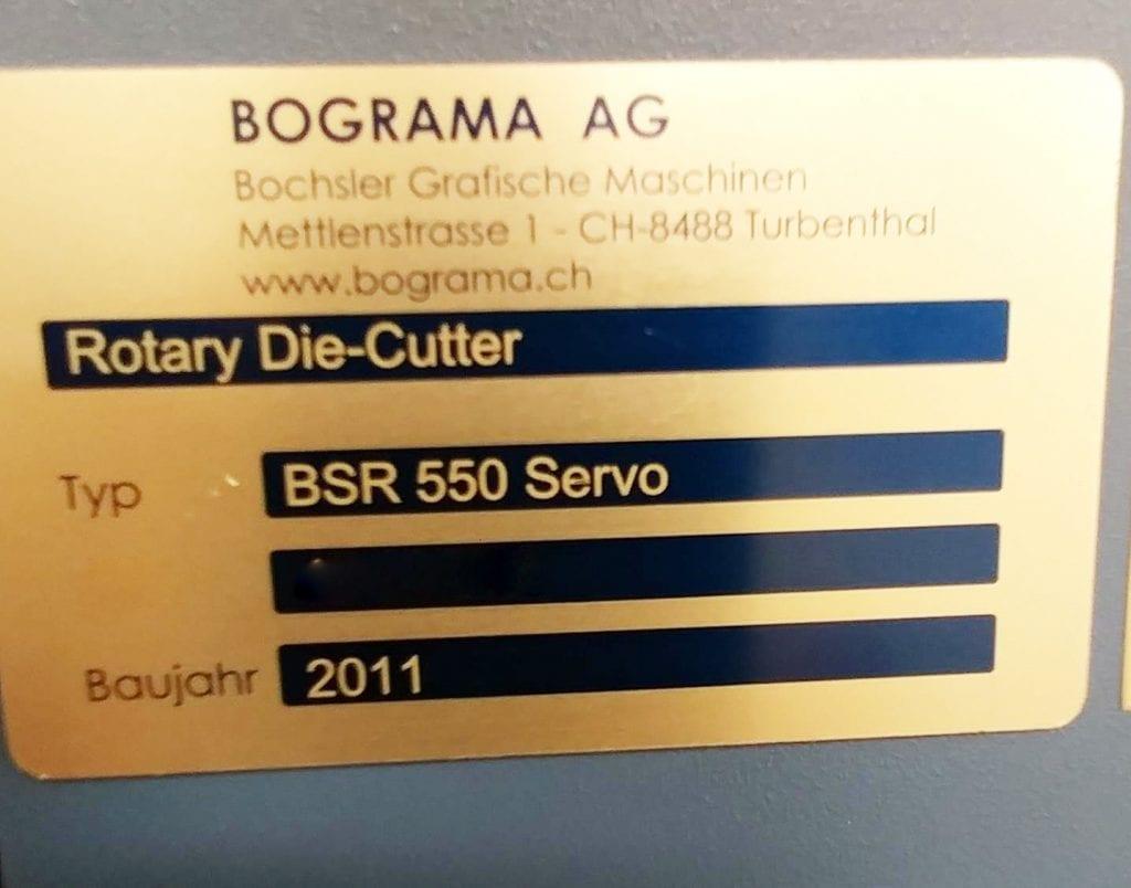 View Bograma-BSR 550 Servo-Rotary Die Cutter-41330