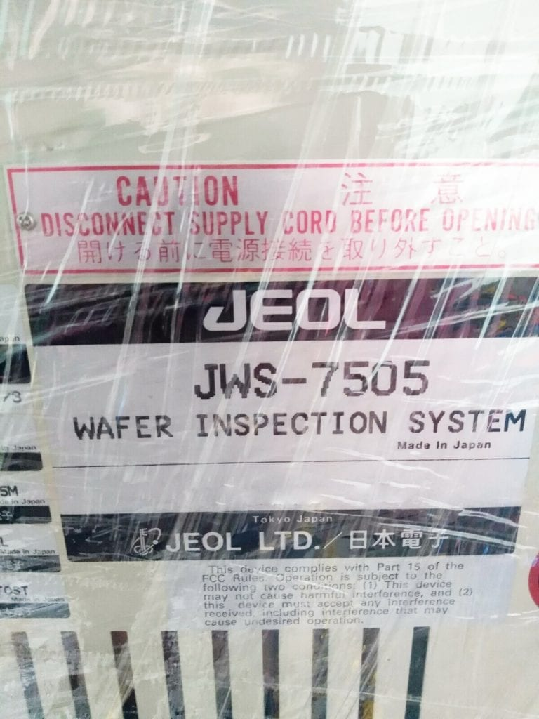Call for Jeol-JWS 7505-Wafer Inspection System-41226