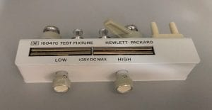 Agilent-16047 C-Test Fixture-41855 For Sale
