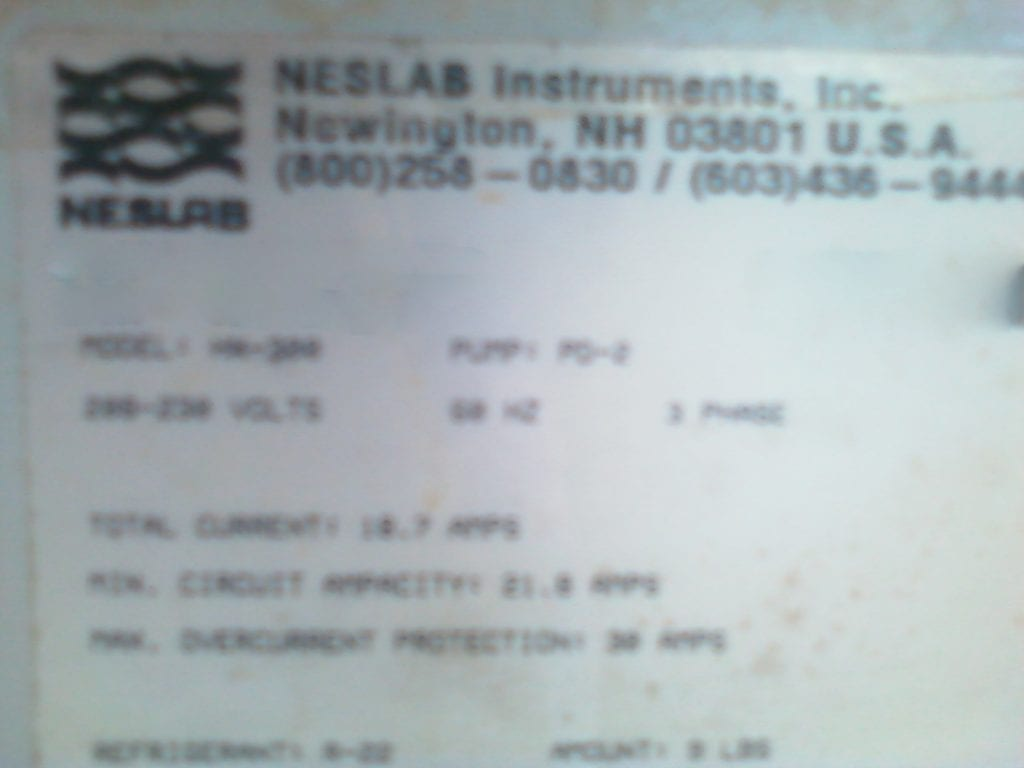 Buy Neslab-HX 300-Recirculating Chiller-42165 Online