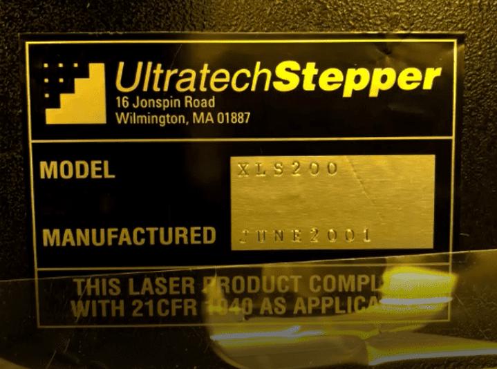Ultratech-XLS 200-Stepper-47081 Image 8