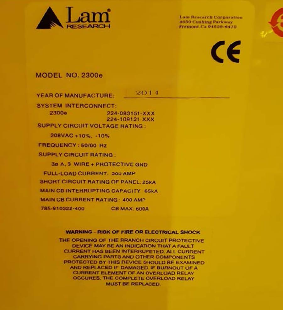 View Lam-2300 E Coronus-Bevel Metal Etch-55135