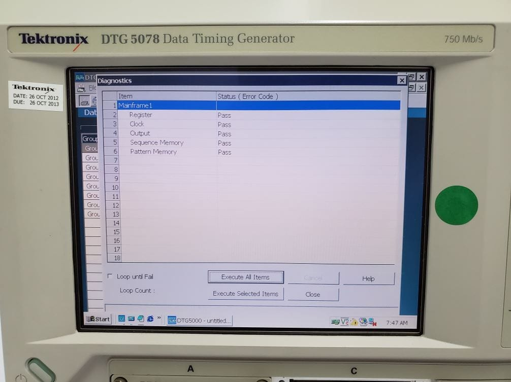 Tektronix DTG 5274 For Sale