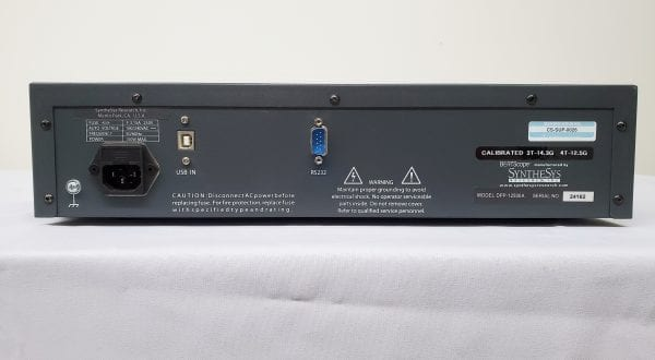 SyntheSys Research DPP 12500 A-4 T BERTScope Four Tap Digital For Sale