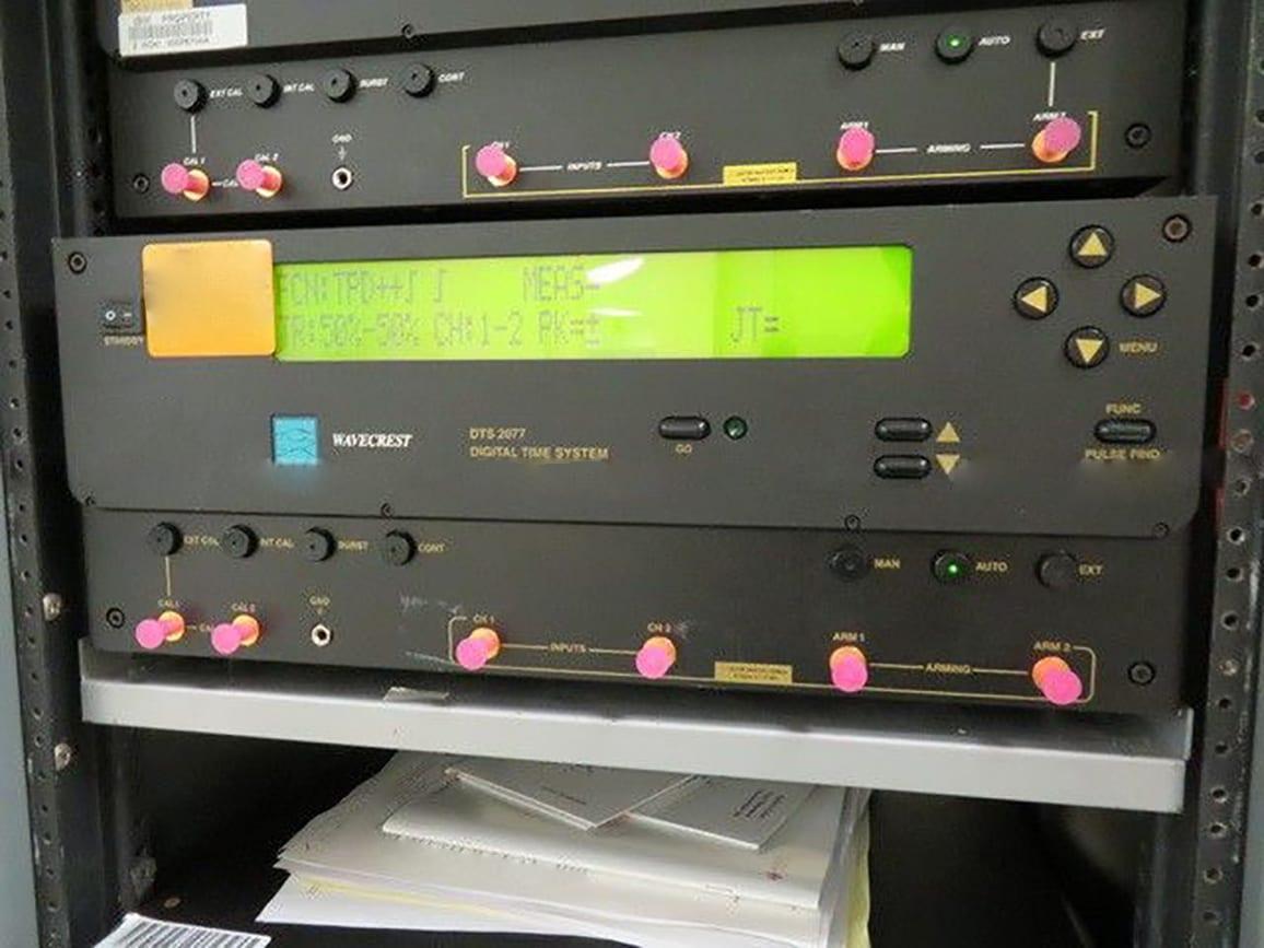 Wavecrest DTS 2077 Digital Time System For Sale