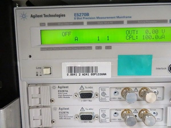 Agilent E 5270 B Precision Measurement Mainframe Refurbished