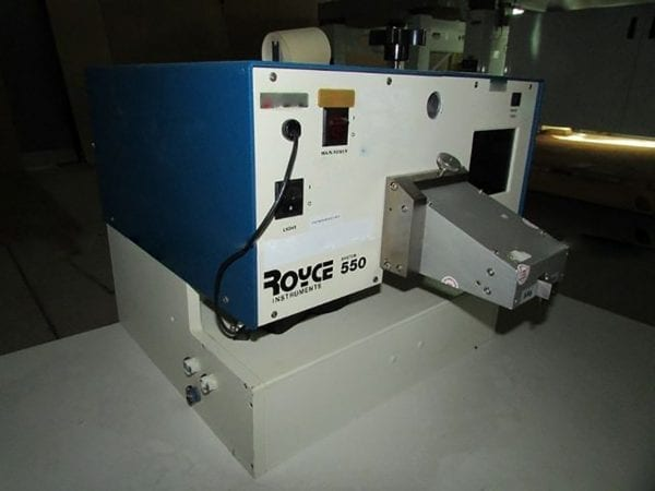 Royce Instruments 550 Wire Bond Pull Tester For Sale