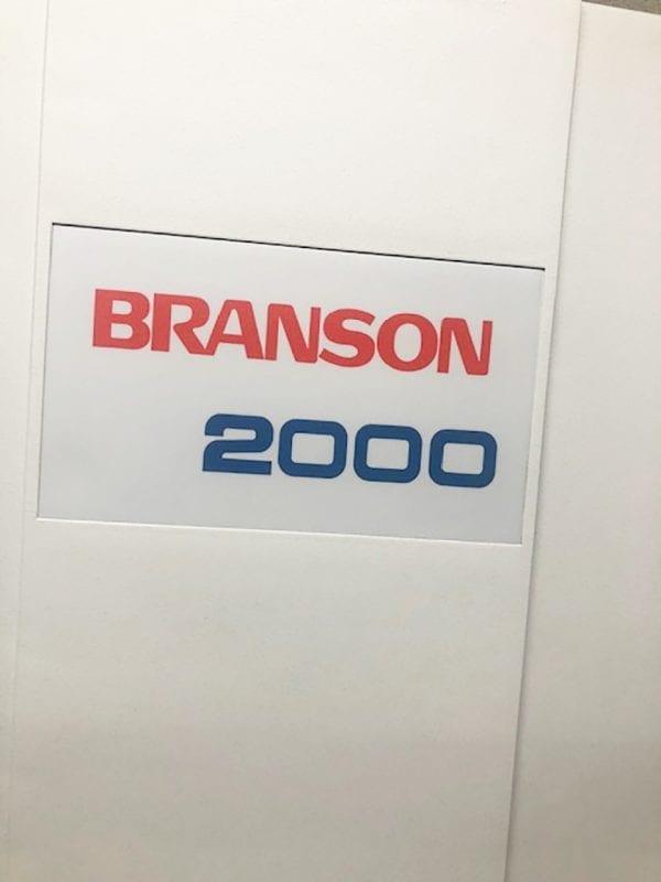 View Branson Ultrasonics 2000 iw Ultrasonic Welder