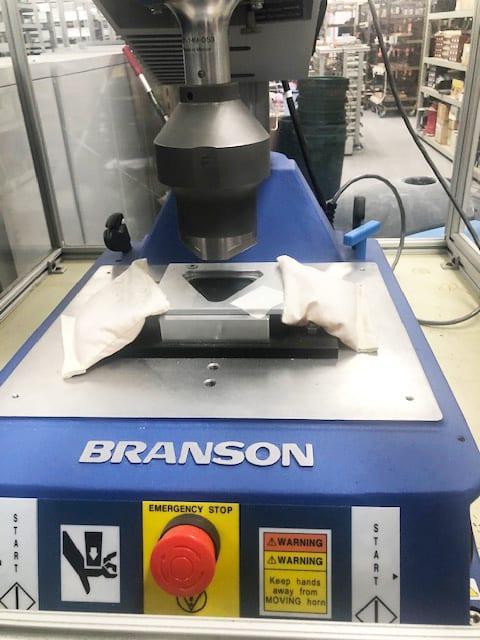 Branson Ultrasonics 2000 iw Ultrasonic Welder Refurbished