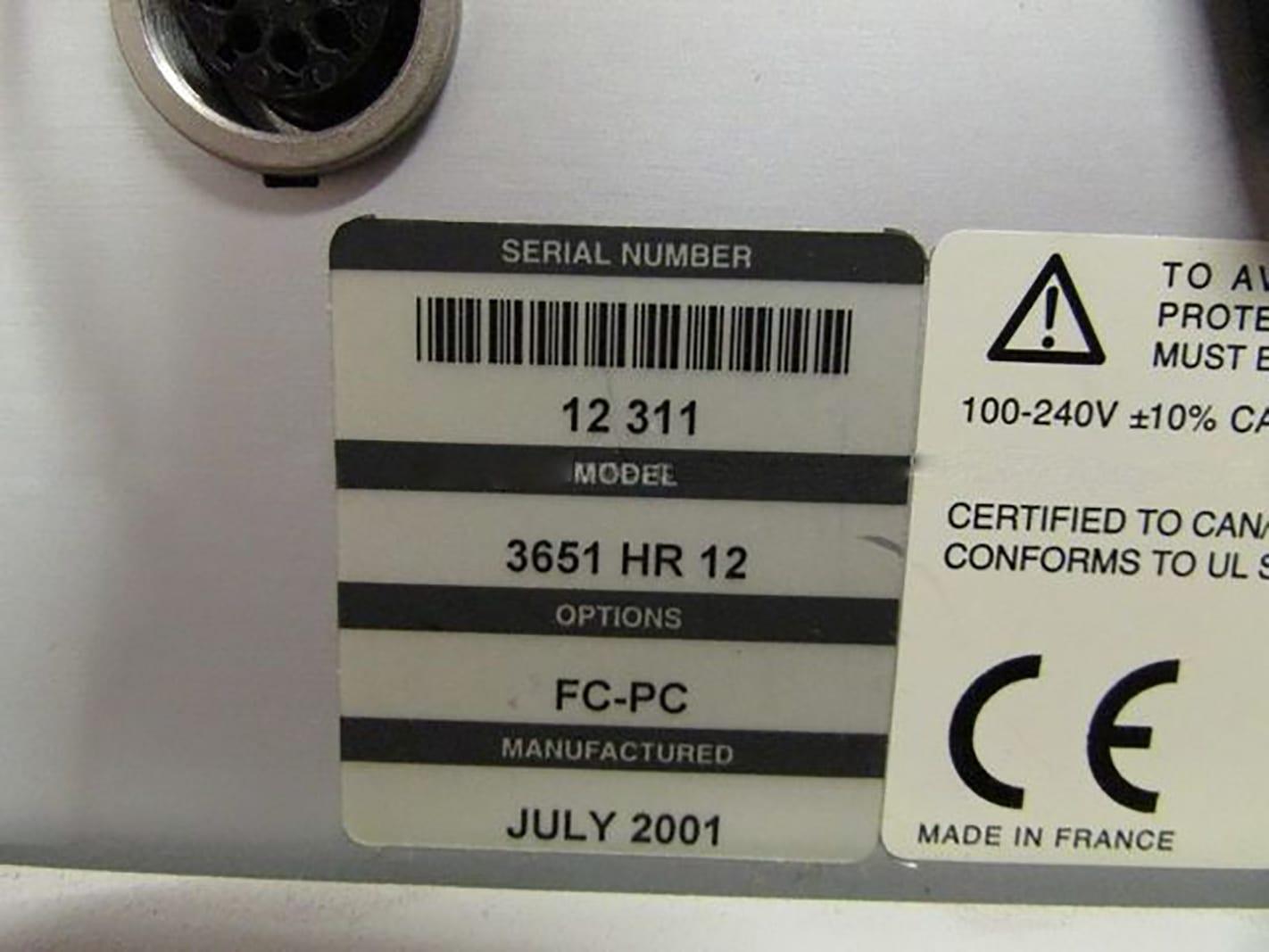 View Photonetics Walics 3651 HR 12 Optical Spectrum Analyzer