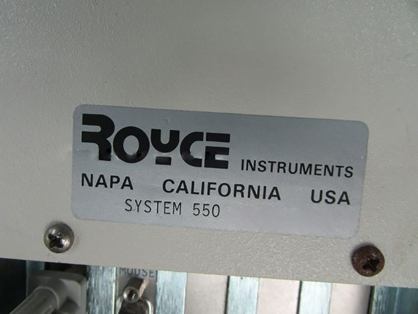 Buy Online Royce Instruments 550 Wire Bond Pull Tester