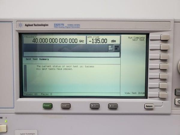 Buy Agilent / Keysight-E 8257 N-PSG Analog Sweep Signal Generator-58101 Online