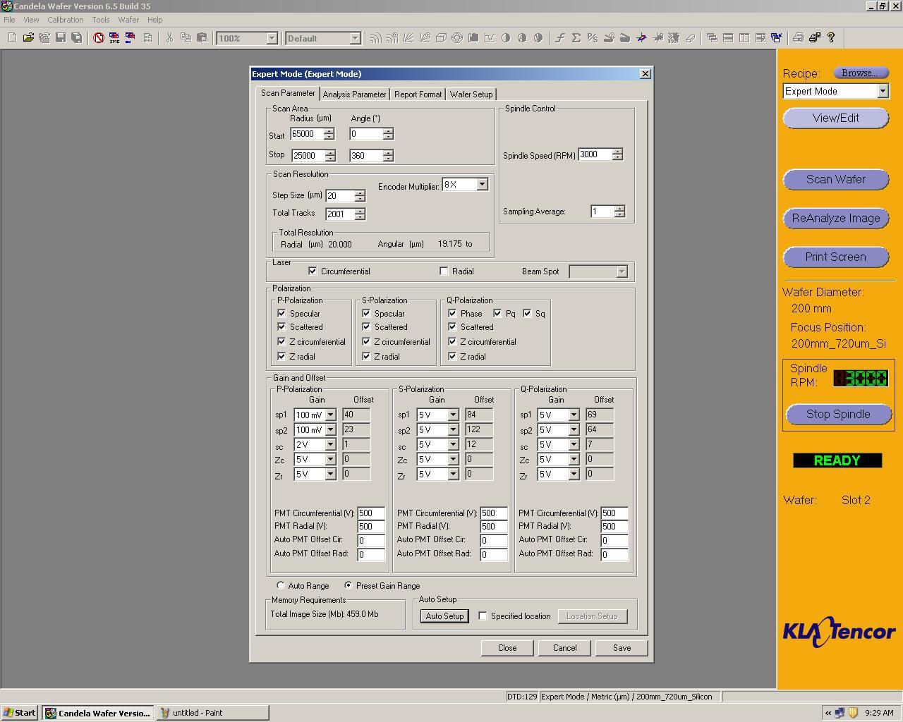 KLA Tencor Candela CS-20-Surface Analyzer Image 46