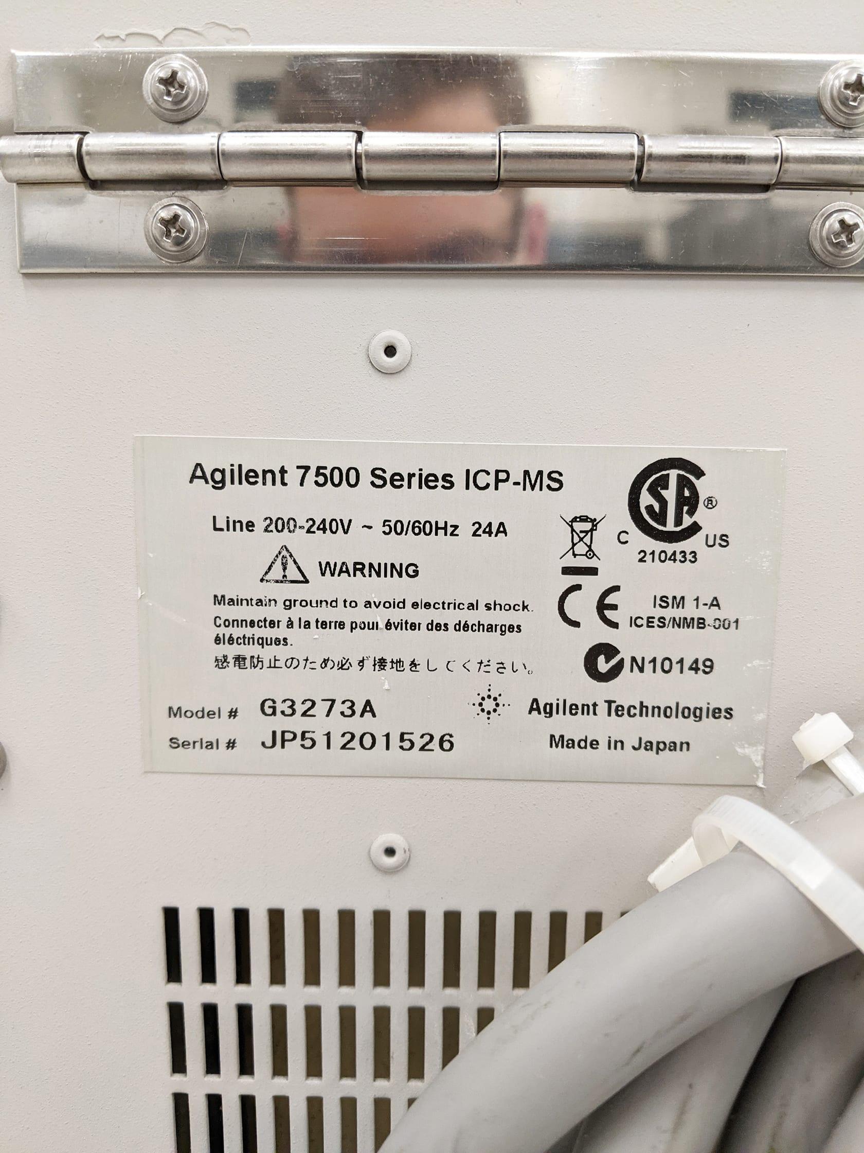 Purchase Agilent / Varian-7500 CS-ICPMS-57942