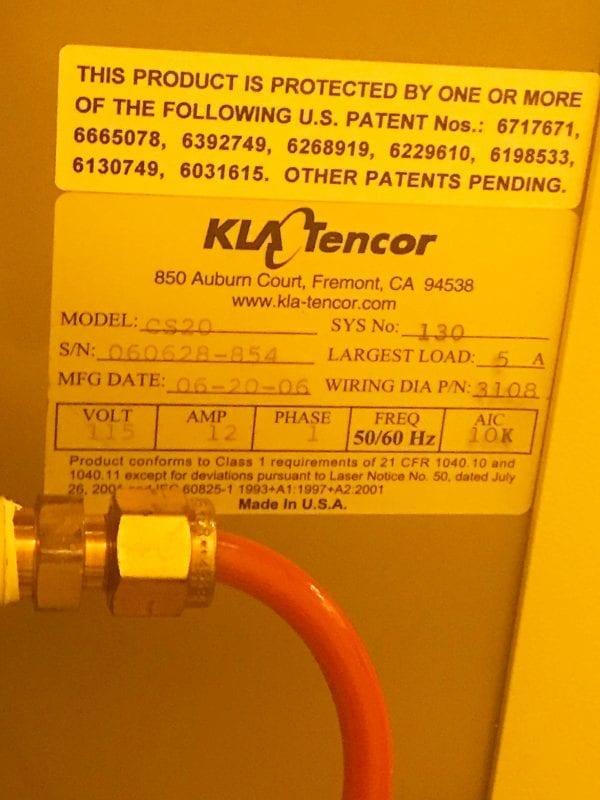 KLA Tencor Candela CS-20-Surface Analyzer Image 54
